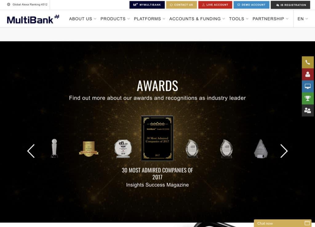 Multibankfx forex broker awards