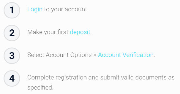 xtrade Account Verification Bonus